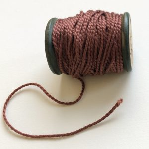 Fireball Red crewel thread from Flo