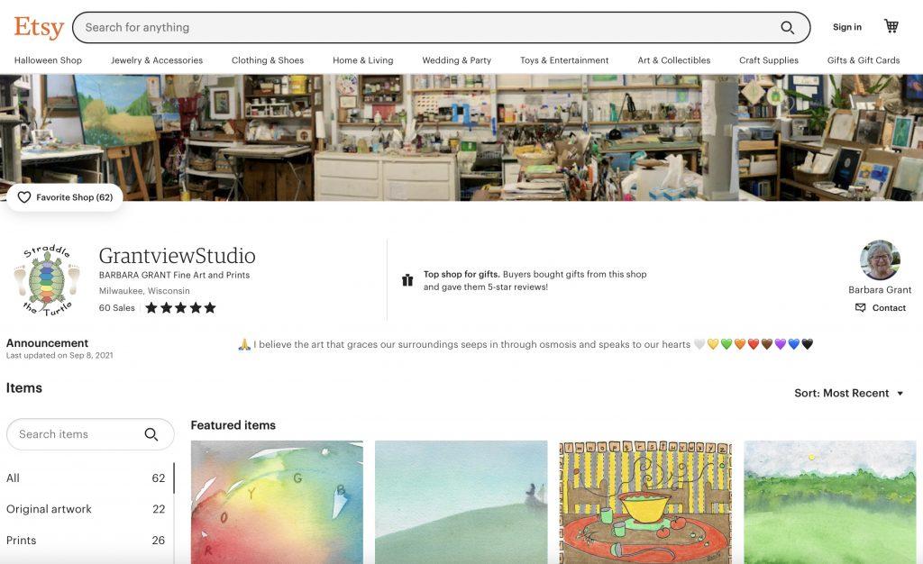 GrantviewStudio Etsy Shop